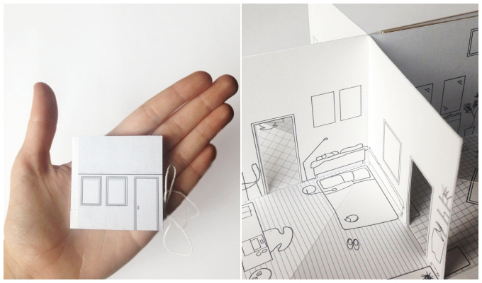 popup_paper_house